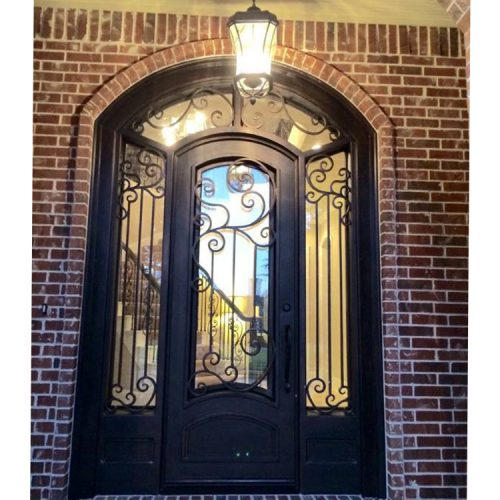 Main entrance front door with sidelights for sale